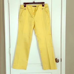 NY&Co Yellow Trousers Petite